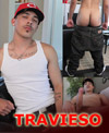 Travieso - Sexcy Mexican with hot ass and thick uncut cock