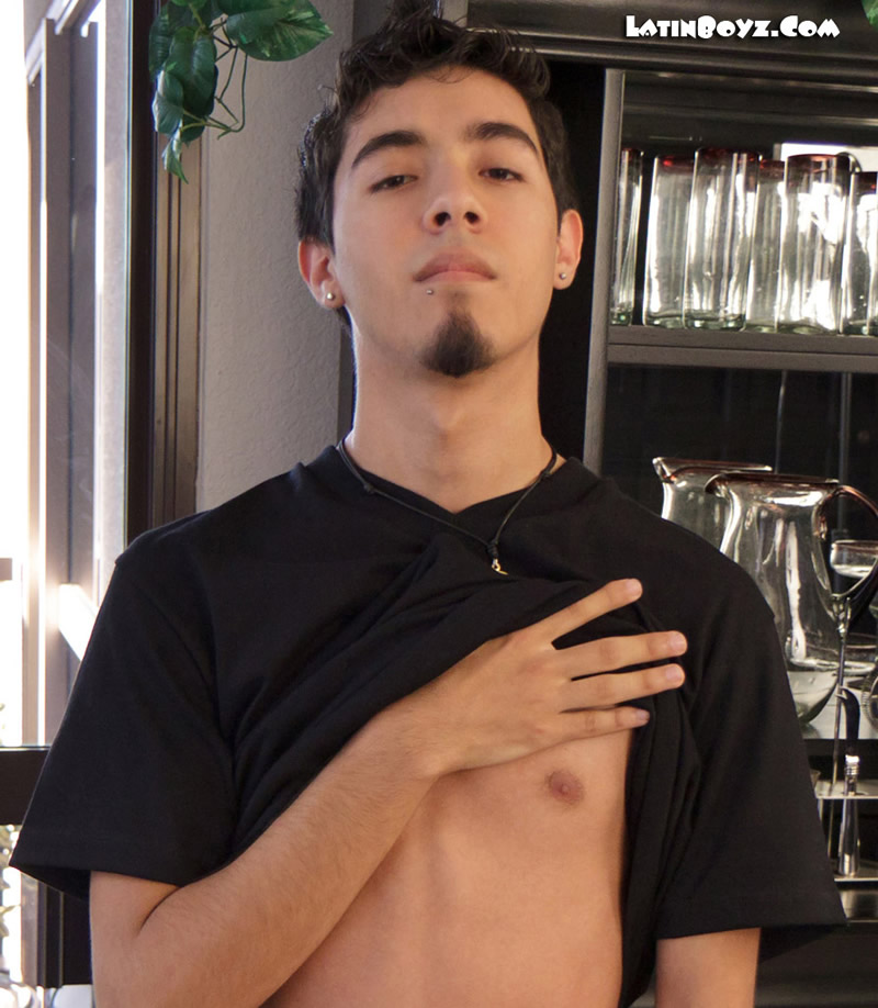 Cute naked Mexican 18 year old Lil Tony from LatinBoyz.Com